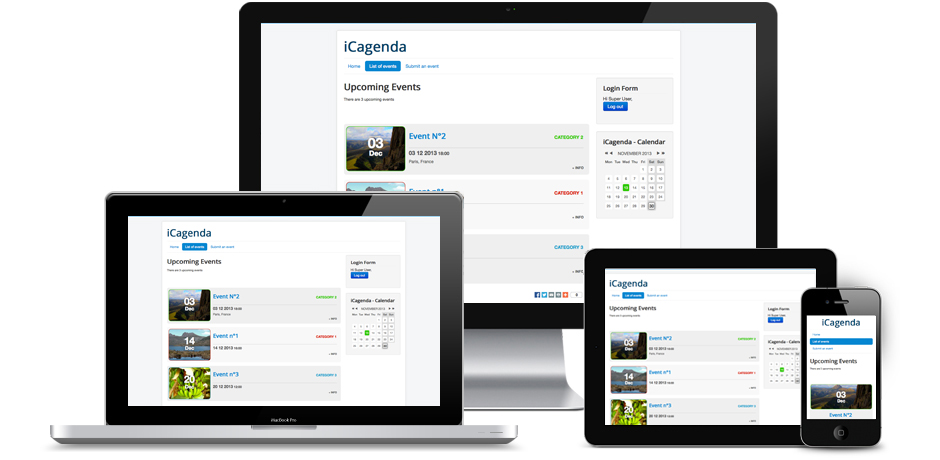 icagenda mobile-ready